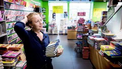 Når Boklagerets butikk i Karl Johans gate legges ned i slutten av august, mister fungerende butikksjef Silje Kåfjord jobben. – Det er kjipt, selvfølgelig. Jeg håper de finner et nytt lokale i Karl Johan igjen, sier hun.