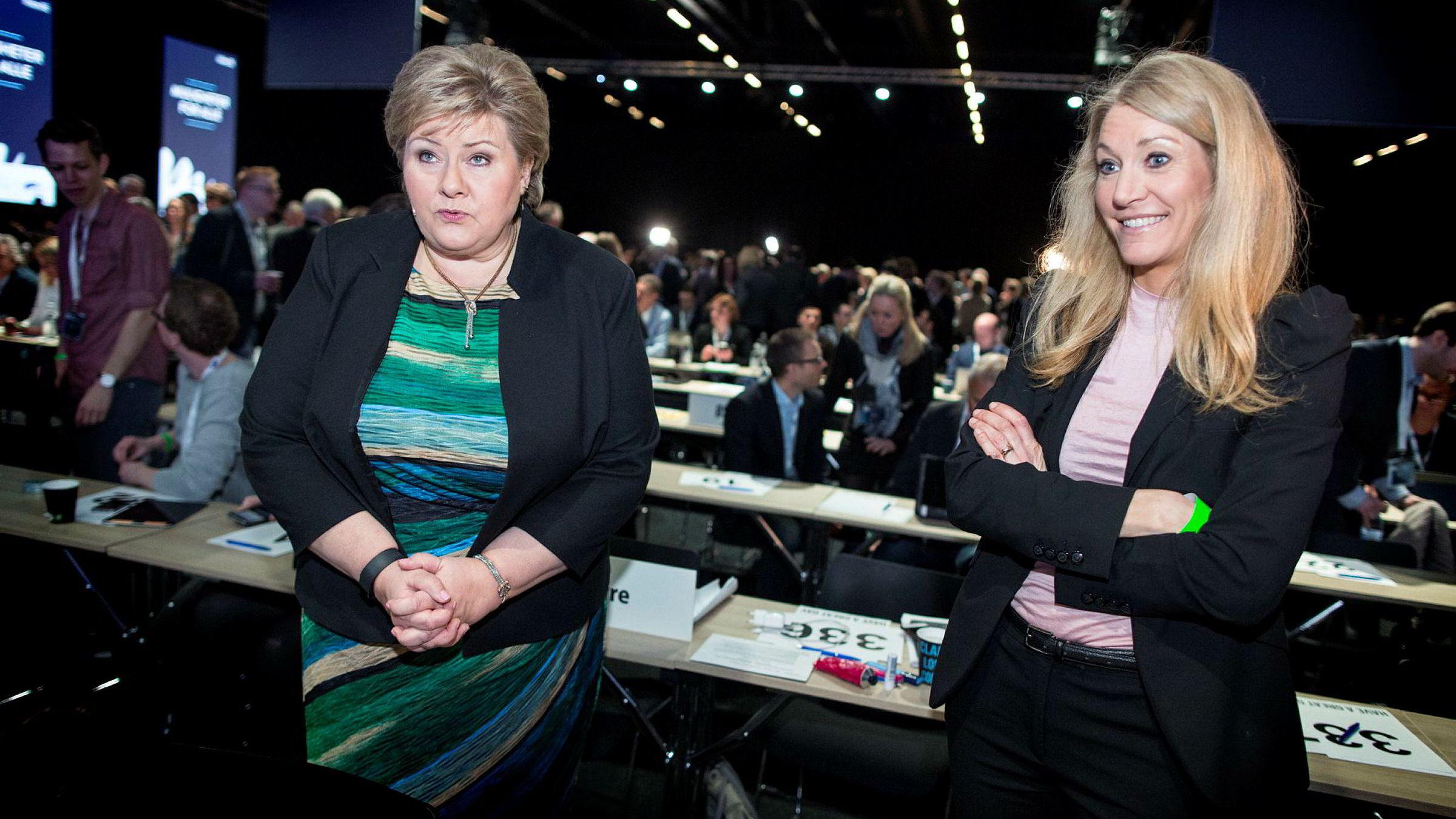 Erna Solbergs stabssjef, Julie Brodtkorb, spredte Listhaug-frykt i Venstre.