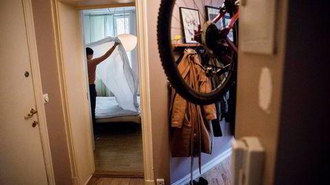 Alina Tran (36) leier jevnlig ut leiligheten sin i Gamlebyen i Oslo med to soverom på Airbnb. Men nordmenn flest er skeptiske til å leie ut egen bolig eller hytte, viser en undersøkelse.