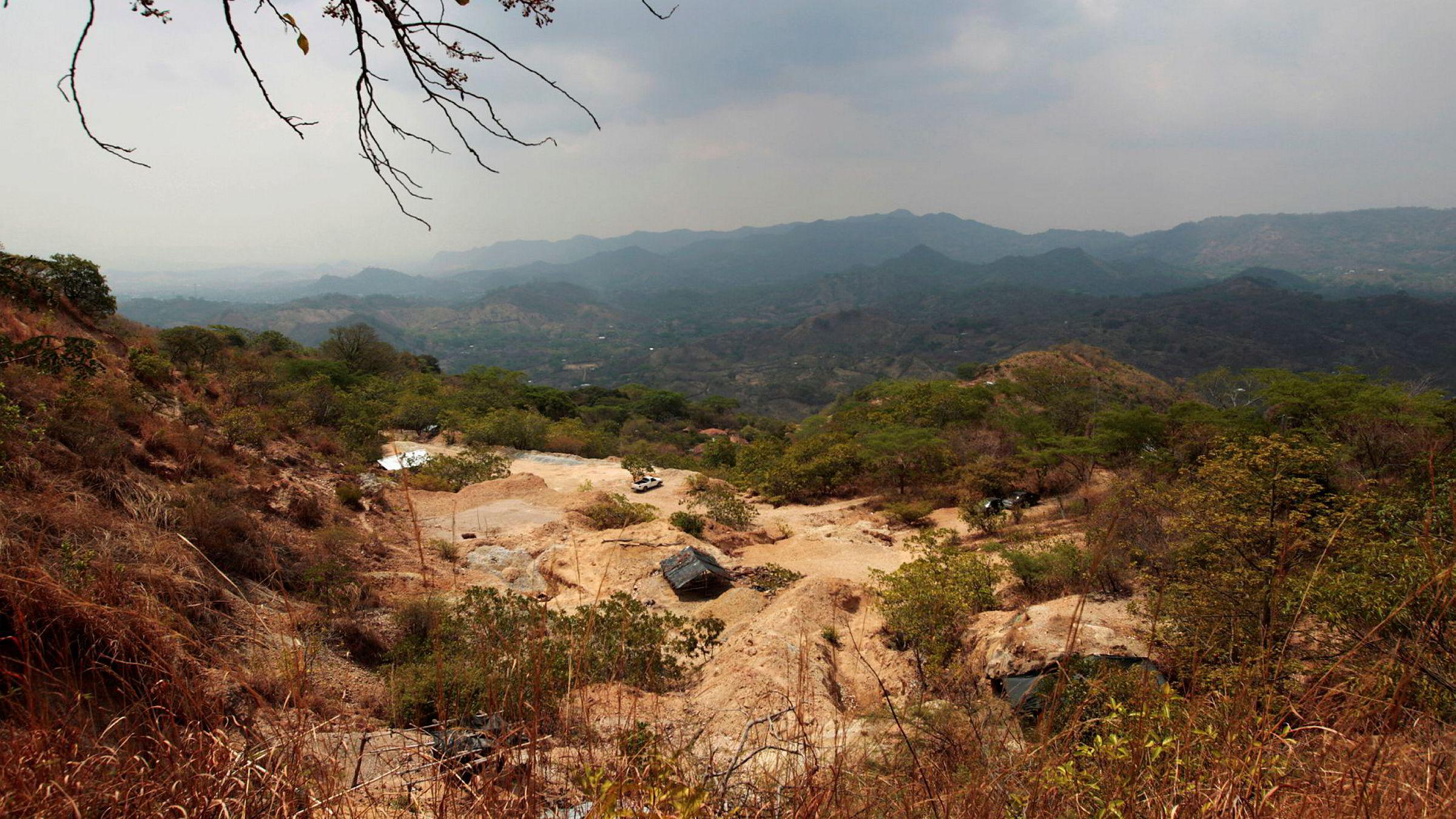 Ny lov betyr slutten for all gruvedrift i El Salvador. Bildet viser San Sebastian-gruven i Santa Rosa de Lima.
