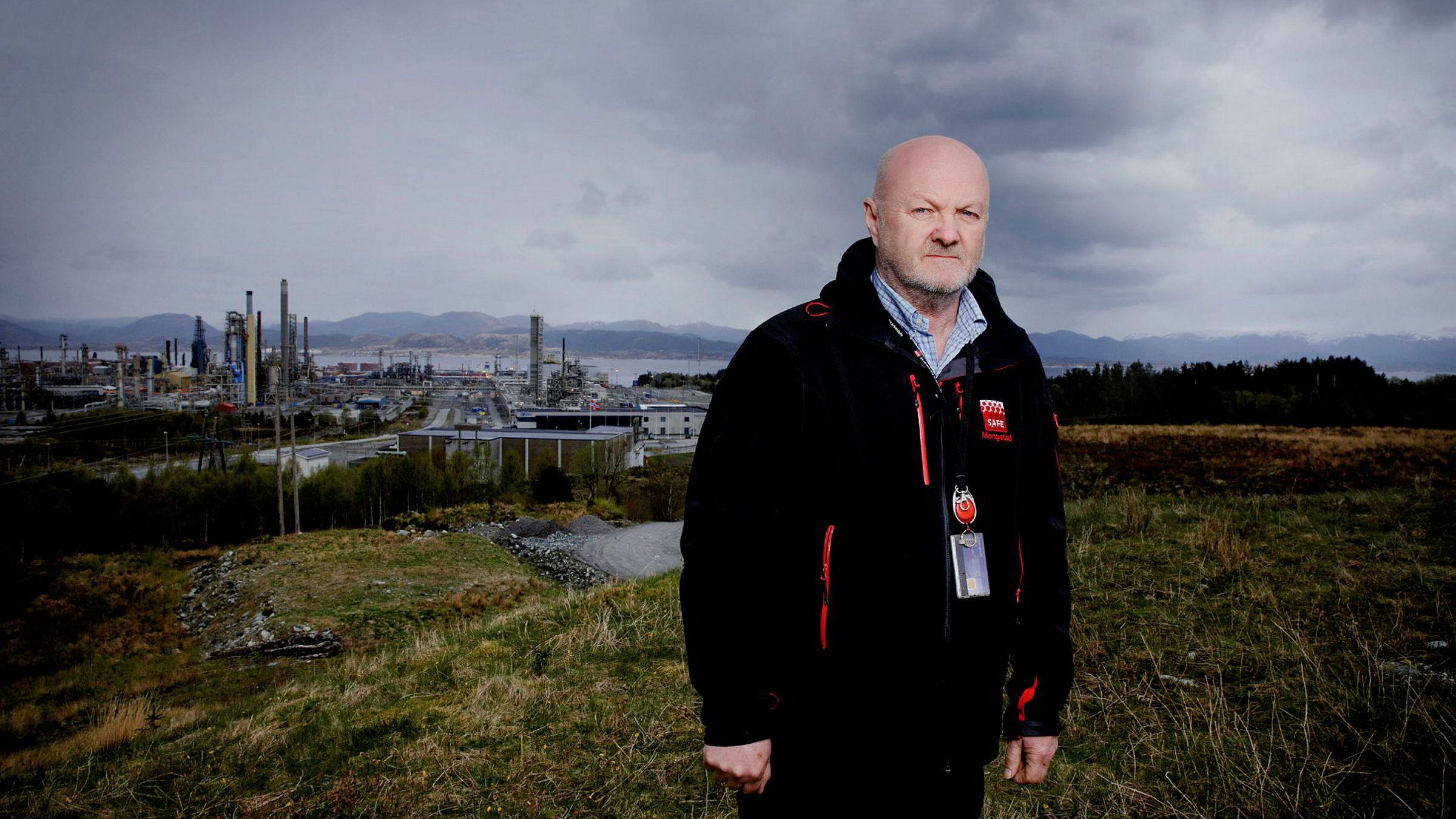 Hovedtillitsvalg Jan-Eirik Feste ved Safe Mongstad mener flere av dagens toppledere i Statoil har et direkte ansvar for manglende vedlikehold av Mongstad-raffineriet.