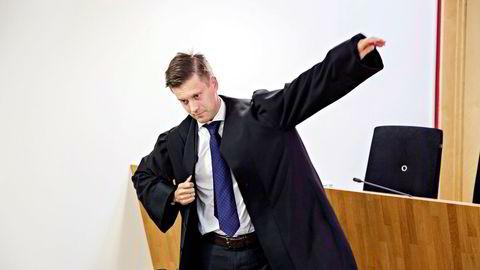 Politiadvokat Jens Bachke i Økokrim fikk rettens medhold i at banksjefen handlet mot bankens interesser.