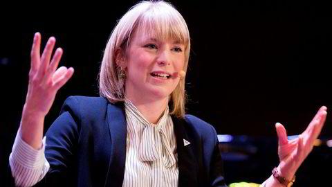 Kari Elisabeth Kaski fra Sosialistisk Venstreparti kan bli ny stortingsrepresentant etter neste års stortingsvalg. Foto: Håkon Mosvold Larsen / NTB Scanpix