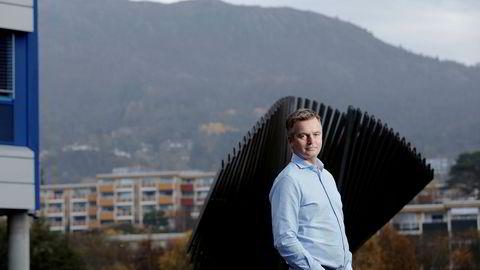 – Vi ønsker å understreke ambisjonen om å gjøre banktjenester enklere på alle måter daglig leder Magnar Øyhovden i Skandiabanken.