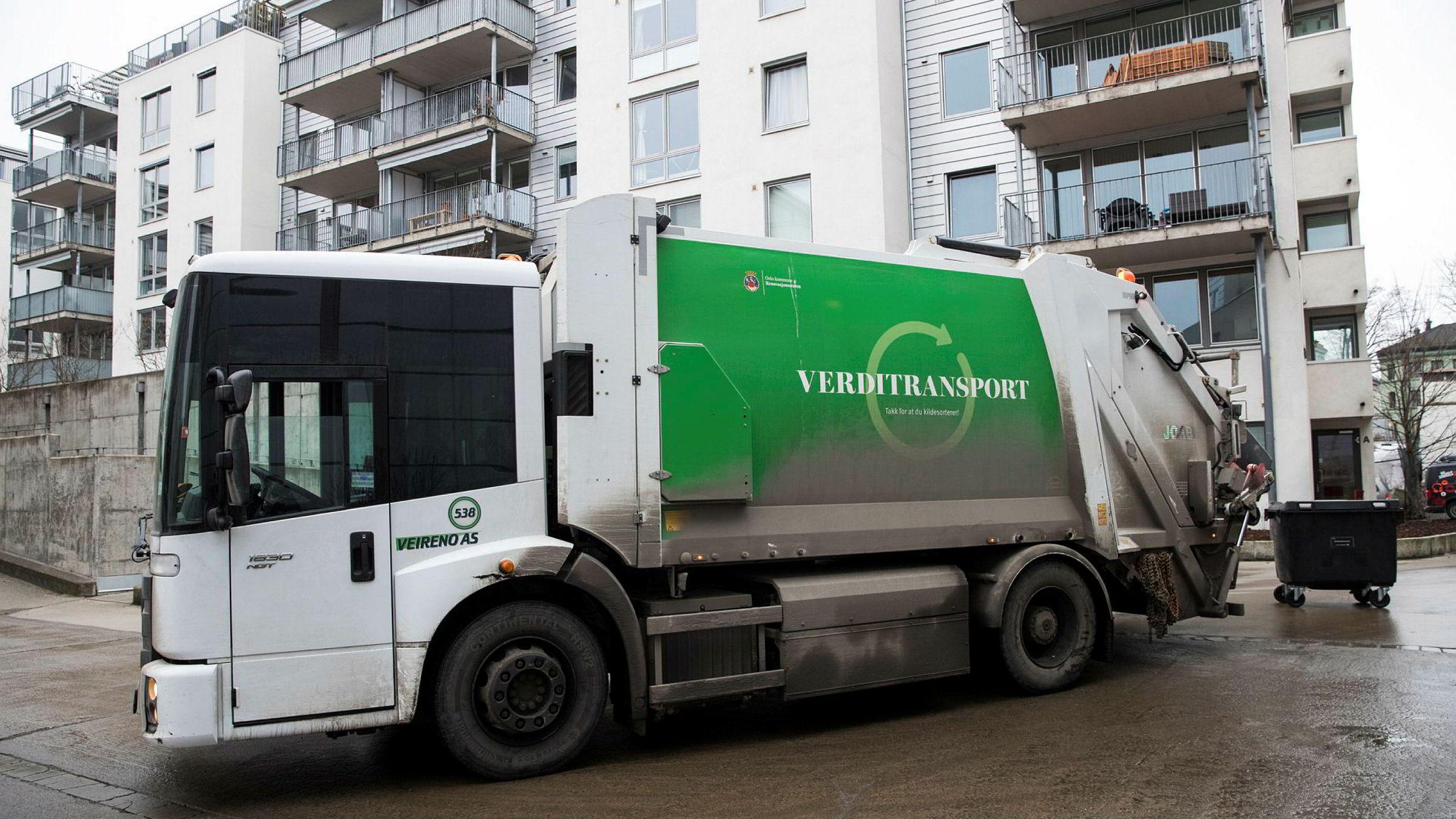 Renovasjonsselskapet Veireno leverte tirsdag konkursbegjæringen i Follo tingrett.