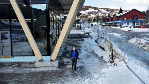 Butikksjef Eirik Walan ser frem til å åpne den franchiseeide Intersport-butikken på Gol. For en uke side ble situasjonen snudd på hodet da kjedeeier Gresvig gikk konkurs.