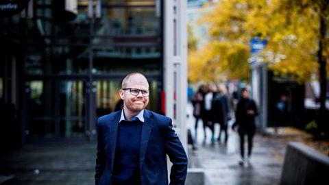 Administrerende direktør og ansvarlig redaktør Gard Steiro i VG har vært gjennom et tungt 2019, men kan smile for økning i digitale inntekter.