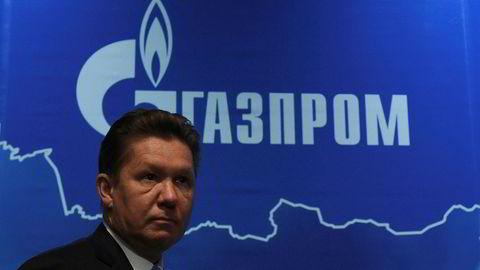 Toppsjef i den russiske gasskjempen Gazprom, Alexei Miller.