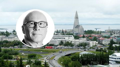 Island er det landet i verden med den høyeste private gjelden (bedrifter pluss husholdninger) som noensinne er registrert, skriver Terje Erikstad (innfelt).