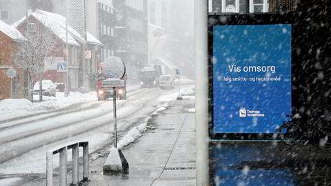 Tromsø kommune er én av kommunene som har innført egne regler for å hindre spredningen av koronaviruset.