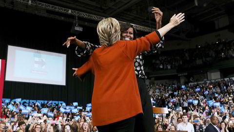 Hillary Clinton og demokratene må kjempe for å komme seg på høyden igjen før det amerikanske mellomvalget i 2018. En av de som kan ta over som partileder er Michelle Obama.