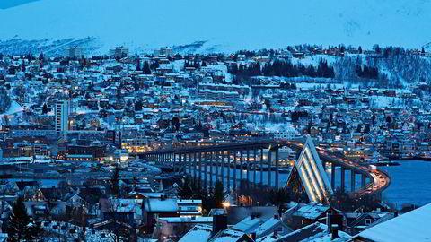 Over 73 prosent av alle rommene ble leid ut hver natt i Tromsø i 2019.