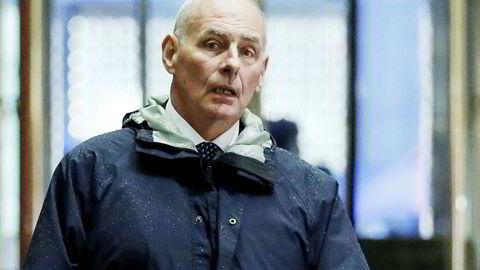 Pensjonert general John Kelly har en utfordrende oppgave foran seg som stabssjef i Det hvite hus.