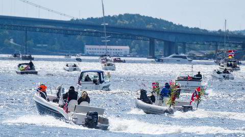 Tall fra Finn viser at båtene så langt i juni ble solgt enda raskere enn i rekordmåneden mai. Her fra Kristiansand.