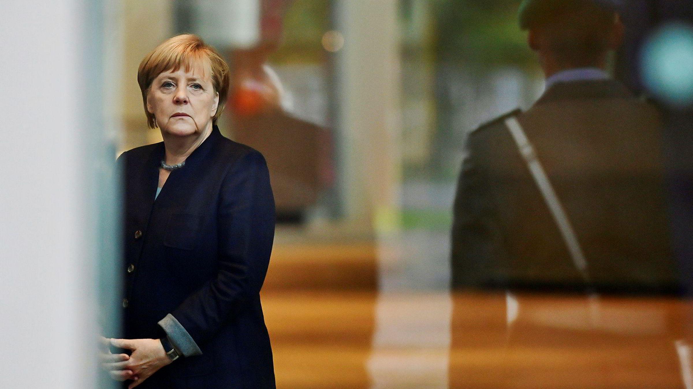 Tysklands forbundskansler Angela Merkel.