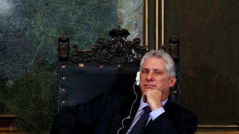 Miguel Diaz-Canel blir med all sannsynlighet ny president på Cuba.