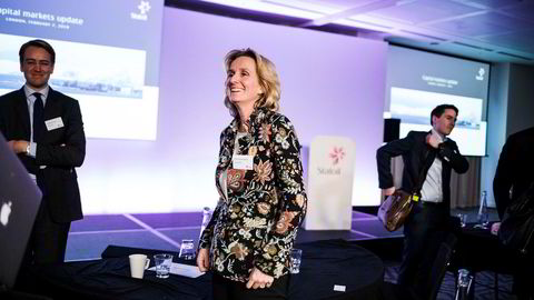 Statoils konserndirektør for Nye energiløsninger Irene Rummelhoff var ikke blant de mest etterspurte da Statoil holdt sin store årlige investorpresentasjon i London onsdag.