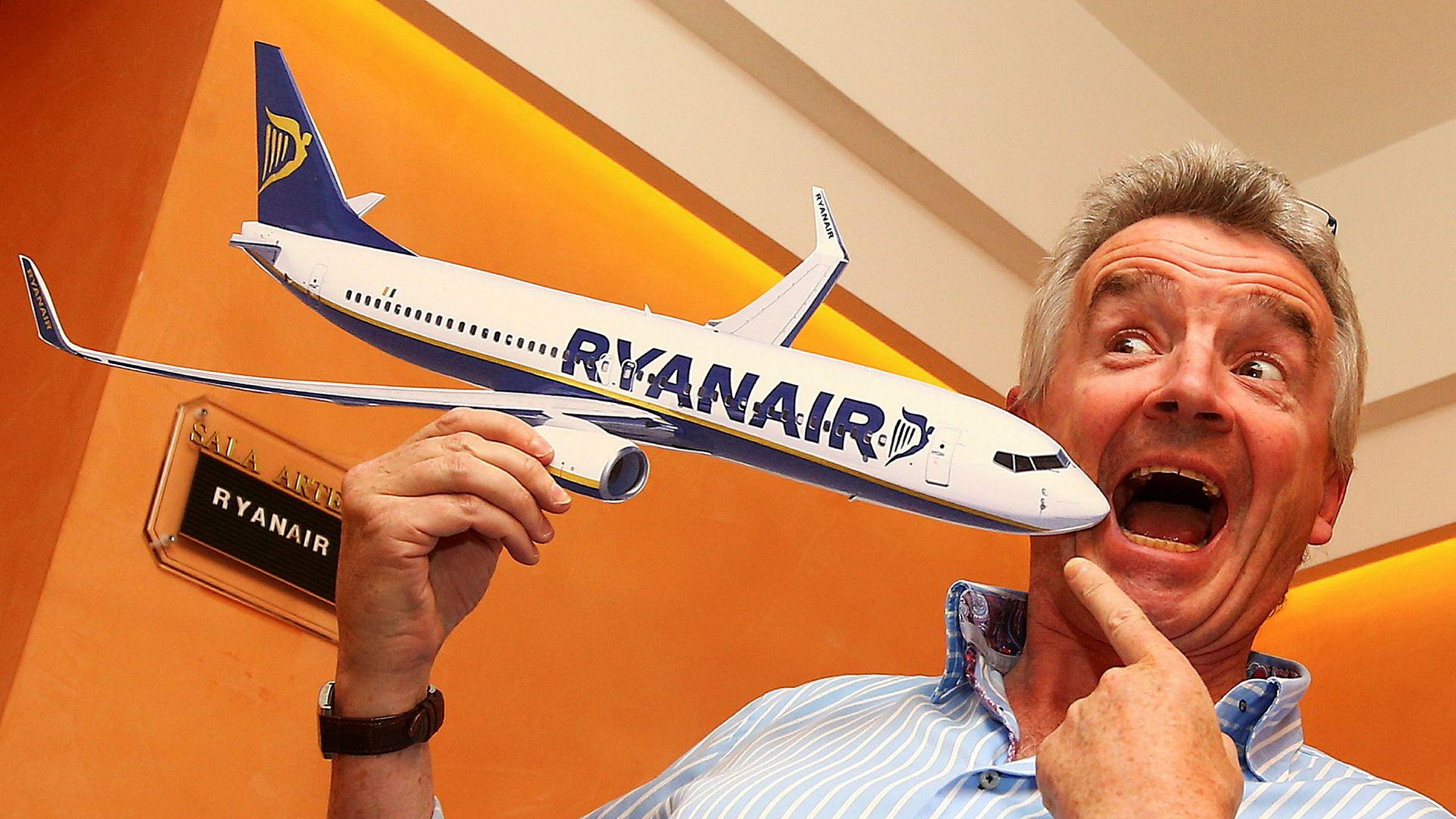 Ryanair-sjef Michael O'Leary har tatt lavprisselskapet Ryanair til nye høyder siden han tok over som administrerende direktør i 1994. Han er Irlands 15. rikeste, ifølge avisen Sunday Independent, med en formue på 1,1 milliarder euro. Nå jakter han en større del av det italienske markedet.
