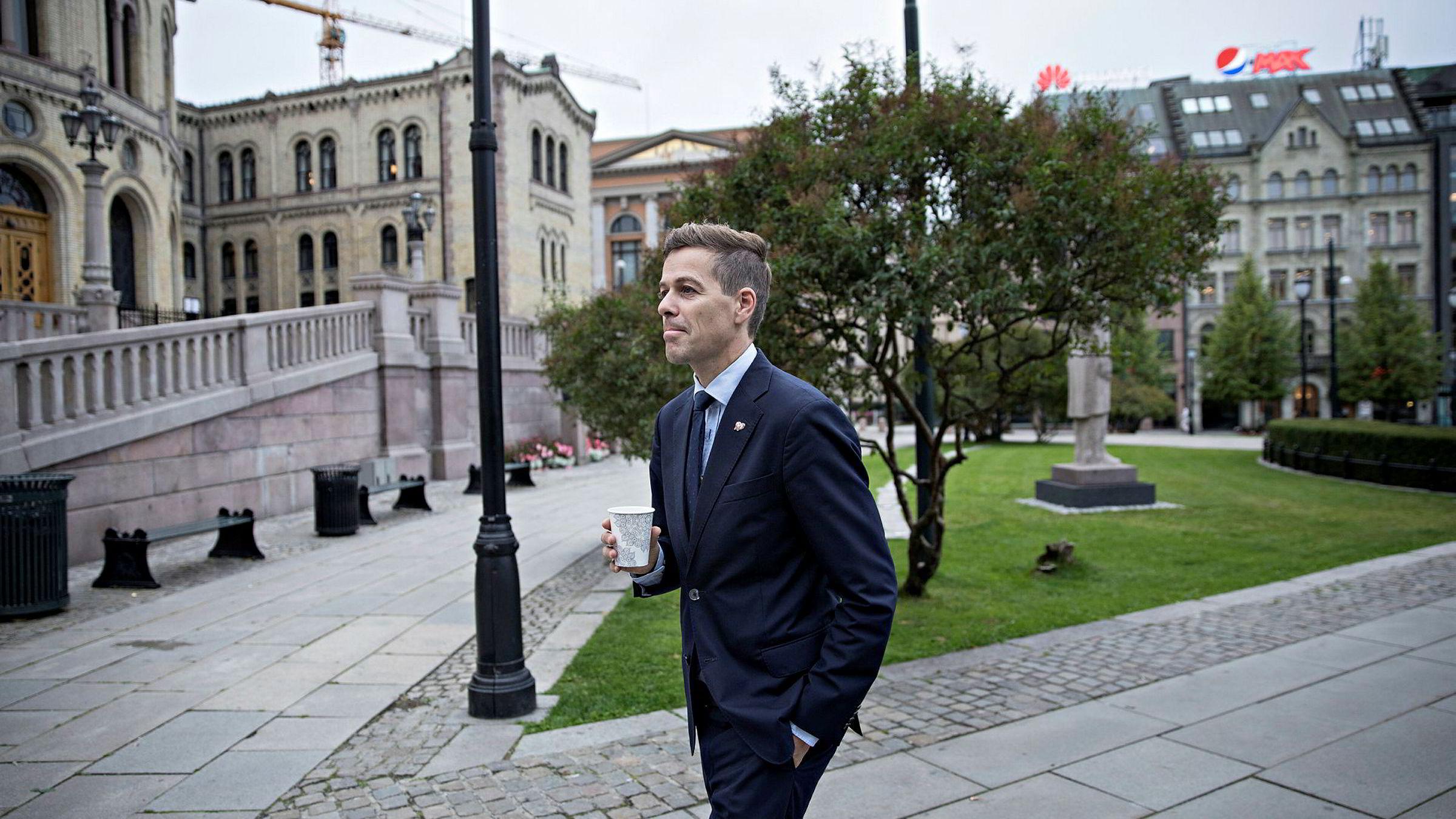 – Knut Arild Hareide (bildet) kunne blitt en flott utenriksminister, sier fylkesleder i Hordaland KrF, Pål Kårbø, som understreker at han ikke tror et tilbud om stillingen blir avgjørende.