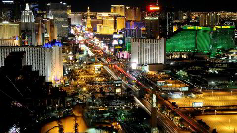 Las Vegas i delstaten Nevada i USA.