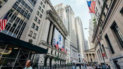 Fredag ettermiddag legges det frem foreløpige tall for den økonomiske veksten i USA i fjerde kvartal.