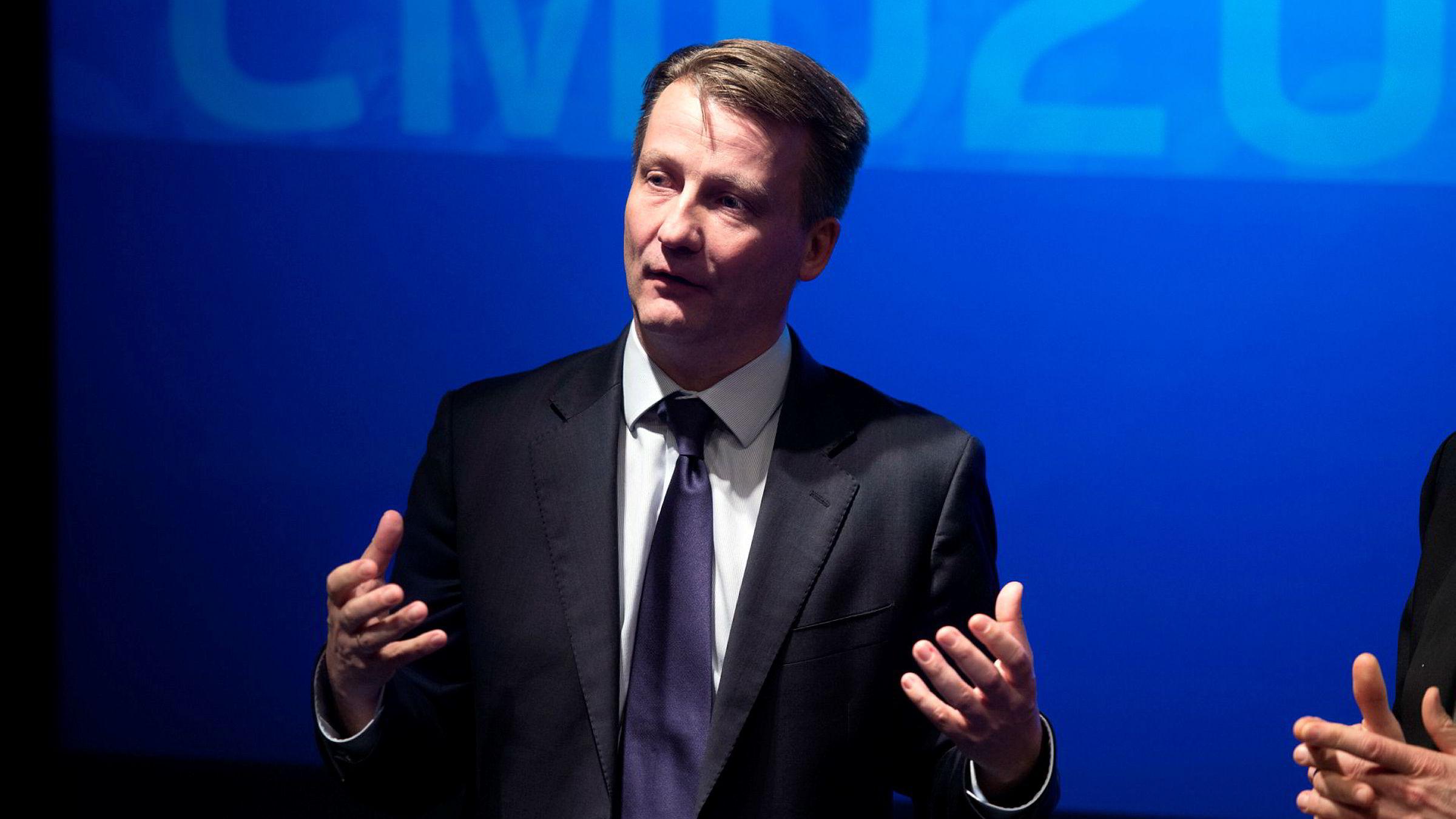 Finansdirektør Jørgen C. Arentz Rostrup i Telenor er svært fornøyd med verdiene selskapet har skapt i online markedsplasser.