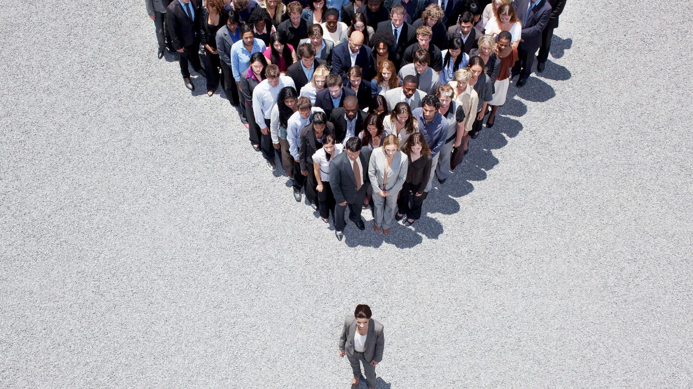 En leder må heie på gode initiativ i organisasjonen, skriver artikkelforfatteren.