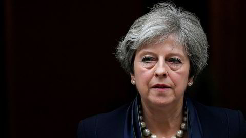 Storbritannias statsminister Theresa May. Foto: REUTERS/Toby Melville
