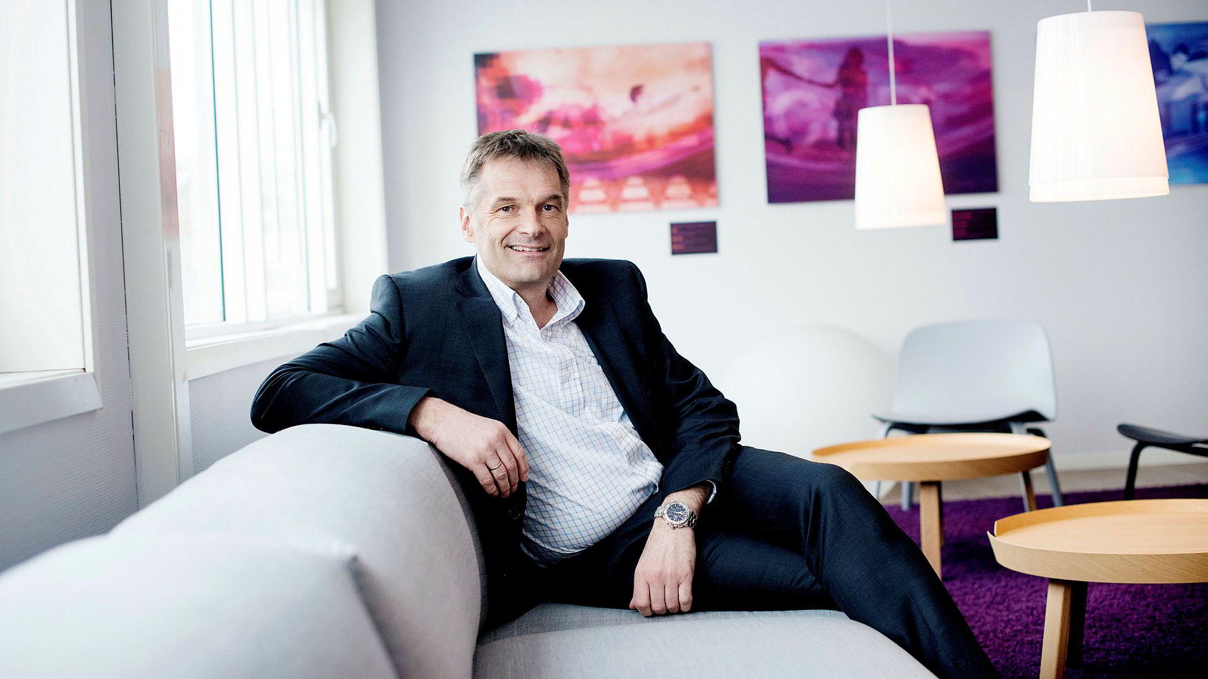 – Vi er veldig glad for tilliten, sier administrerende direktør Abraham Foss i Telia Norge om avtalen med Statens innkjøpssenter.