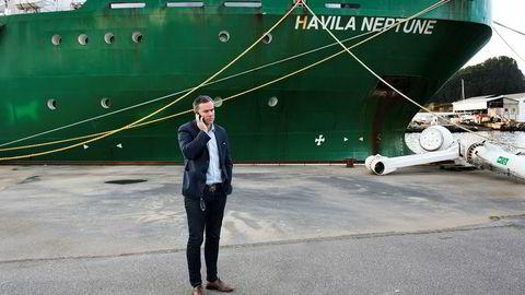Havila Shipping-sjef Njål Sævik har kjempet for å redde rederiet i over ett år.