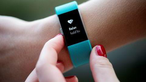 Den nye aktivitetsmåleren fra Fitbit er utstyrt med en«relax»-funksjon som skal hjelpe deg med å roe ned pust og puls.