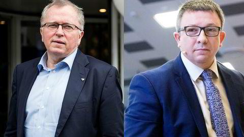 Begraver stridsøksen: Eldar Sætre i Equinor og Karl Johnny Hersvik i Aker BP har inngått en avtale om hvordan gigantprosjektet Noaka i Nordsjøen skal bygges ut.