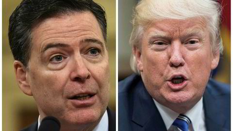 Tidligere FBI-sjef James Comey har ikke mye positivt å si om president Donald Trump.