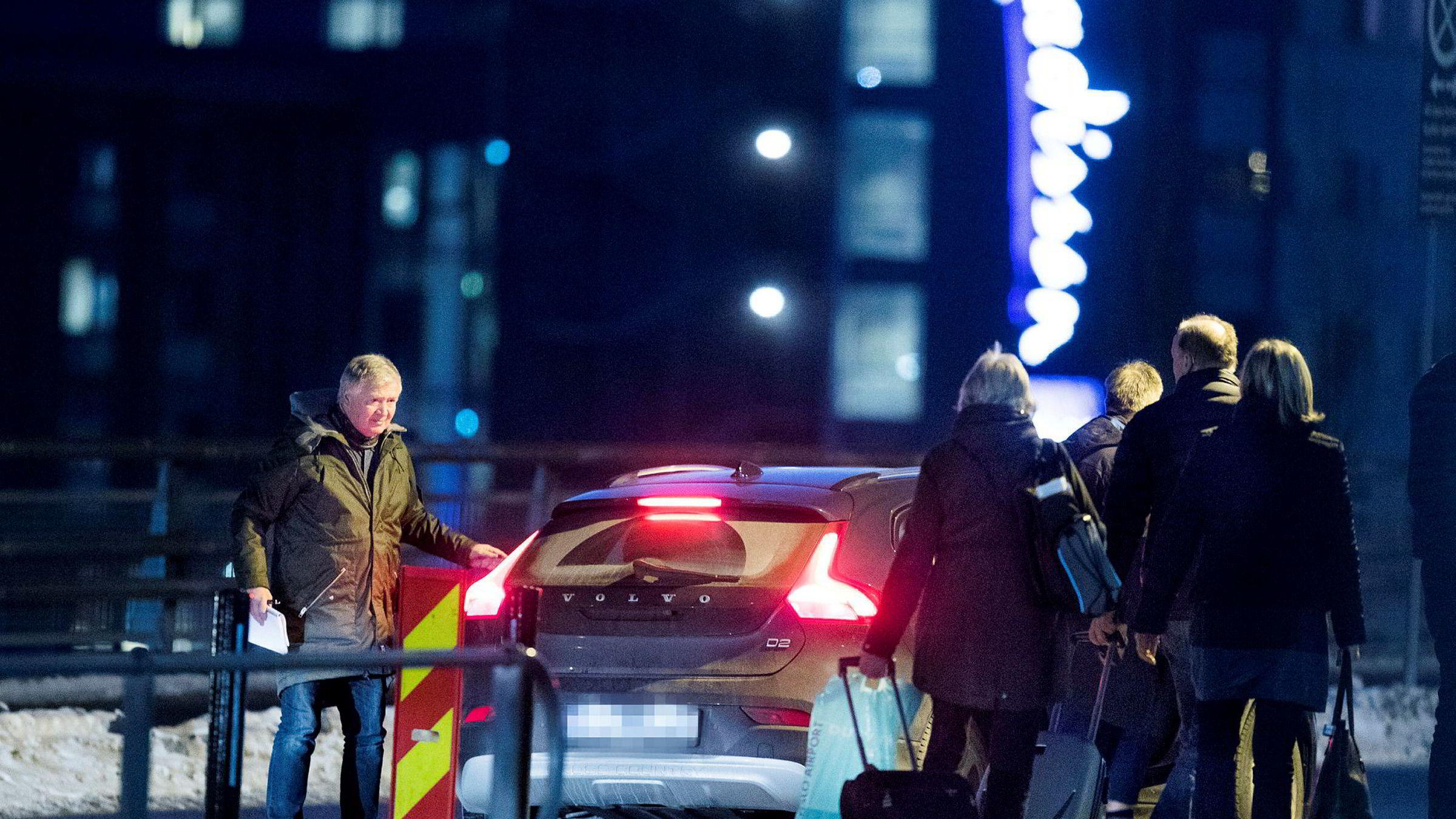Tines tidligere innkjøpsdirektør Hårek Skotnes (bildet) avleverte Tetra Pak-selger Tom Bjøre på Oslo lufthavn. Skotnes har vært på flere reiser og middager med Bjøre.