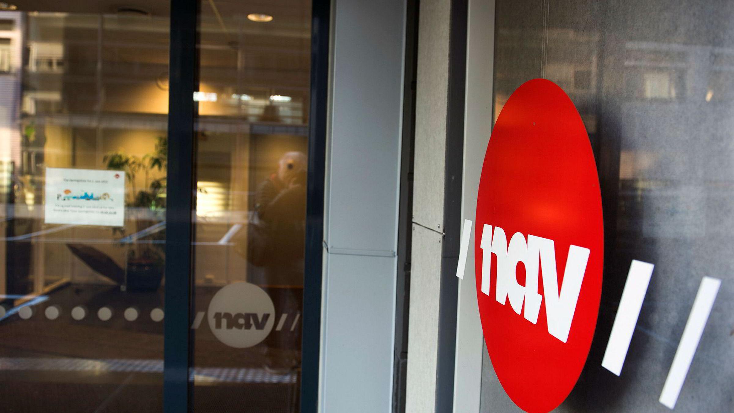 Avbildet er et Nav-kontor påNordre Aker i Oslo. Nav er en offentlig etat med ansvar for blant annet arbeidsledige og ulike velferdsordninger. Både Nav og SSB publiserer egne ledighetsstatistikker.