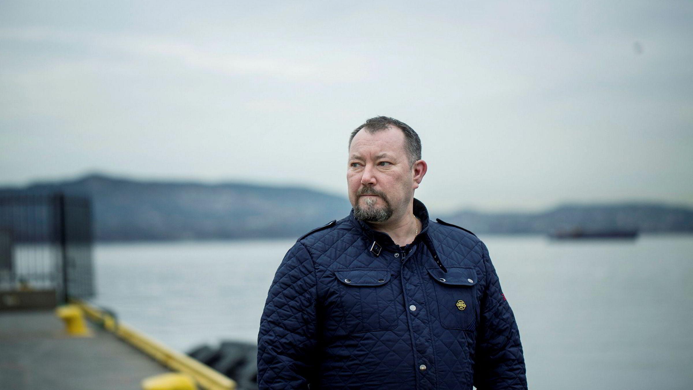 Gunnar Paulsen er tillitsvalgt i Farstad Shipping.