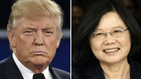 Donald Trumps telefonsamtale med Taiwans president Tsai Ing-wen har skapt furore.