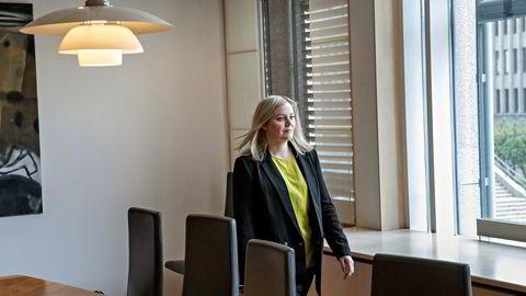 Olje- og energiminister Tina Bru (H) og klima- og miljøminister Sveinung Rotevatn (V) la onsdag frem en egen hydrogenstrategi for Norge.