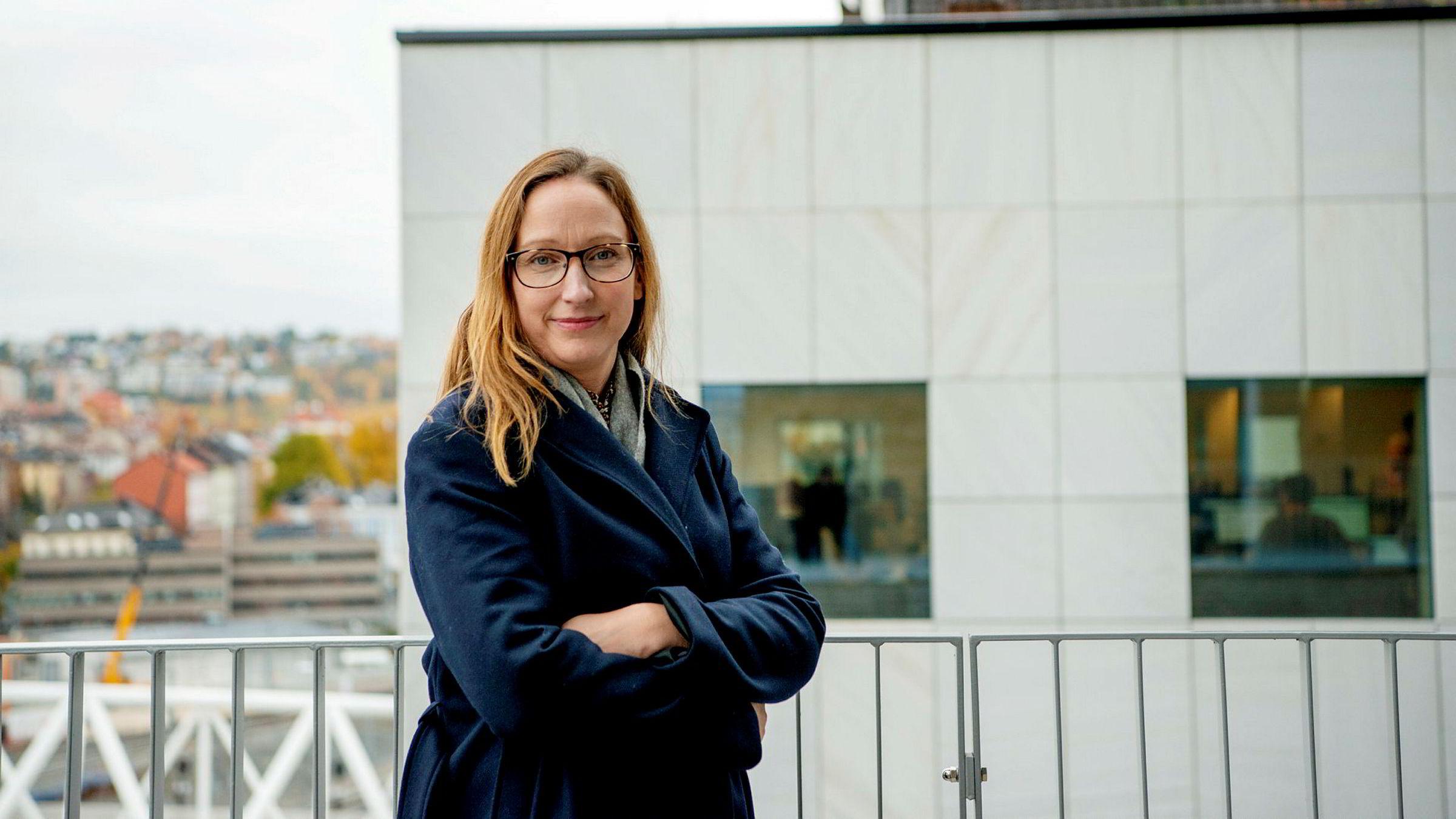 Kjersti Haugland, sjeføkonom i DNB Markets, tror økt sparing vil fortsette å tynge varehandelen i årene fremover.