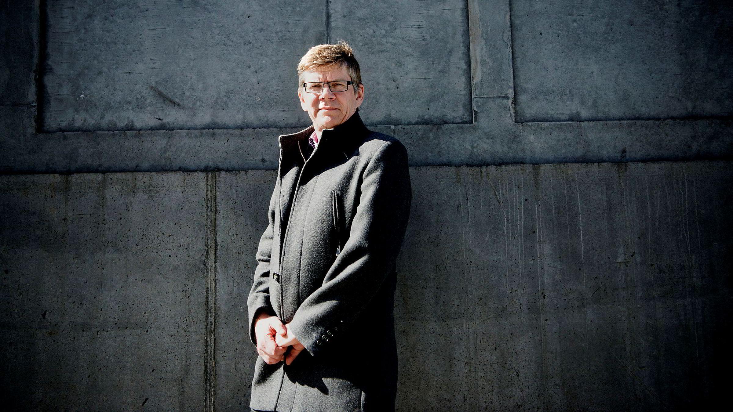 Svein Stølen er valgt til både rektor og styreleder. Han synes det er en fin ordning.