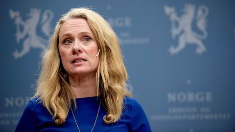 Arbeidsminister Anniken Haugli.