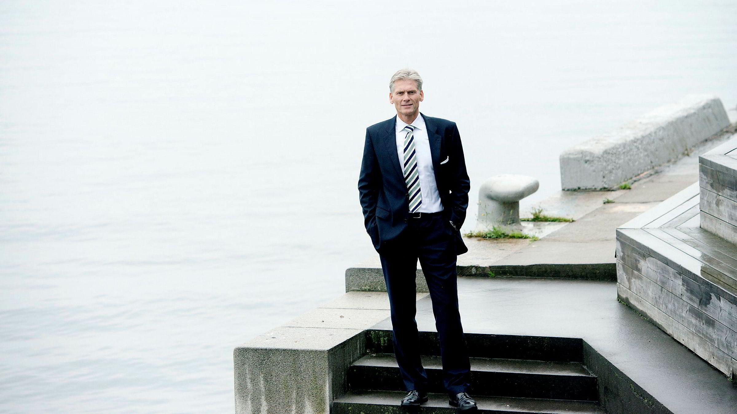 Danske Bank-sjef Thomas Borgen (bildet) er jevnlig i Oslo, og i oktober møtte han Rune Bjerke i DNB før Mobilepay ble gitt opp i Norge.