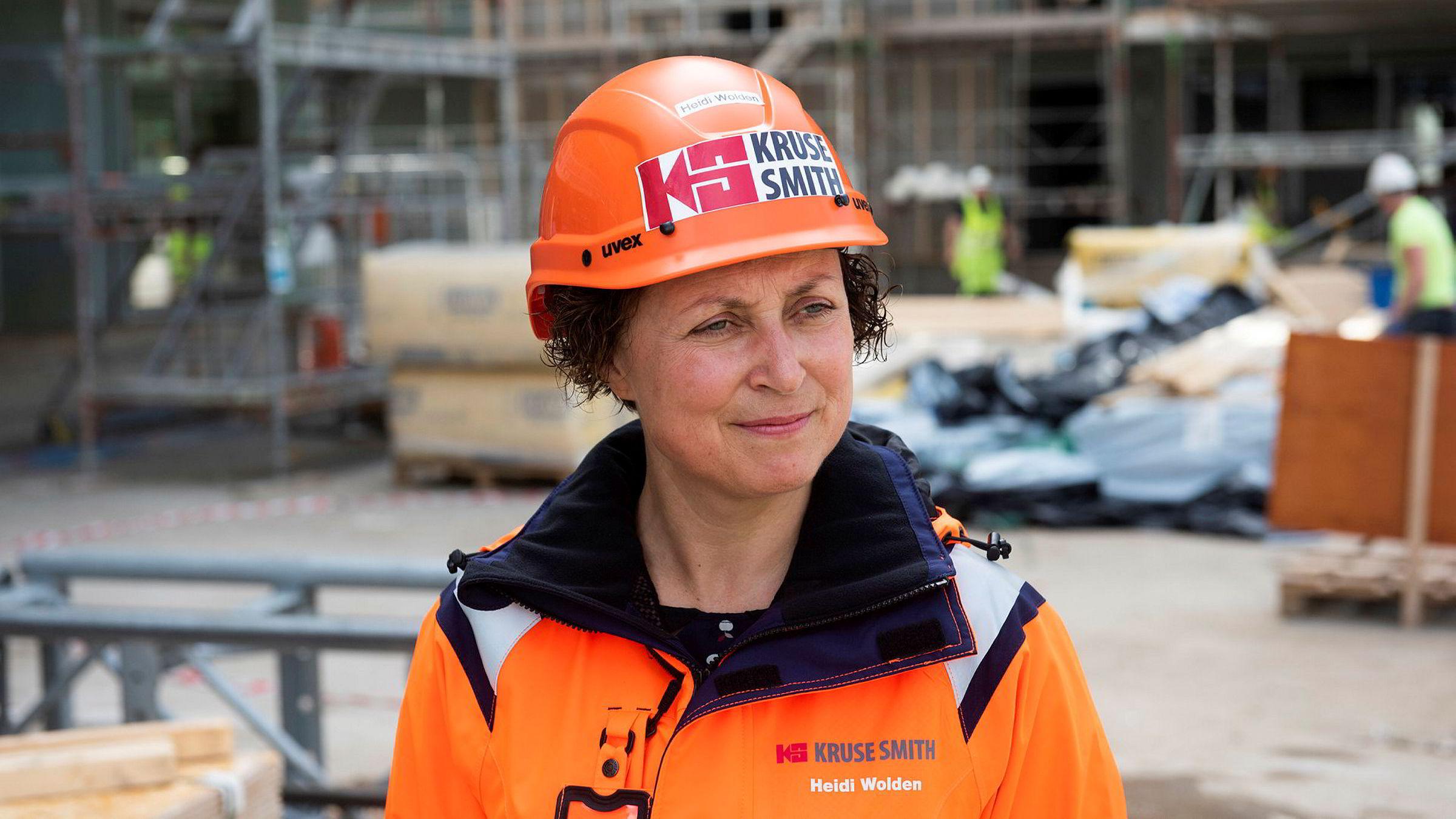 – Hvor stor bemanningsreduksjonen vil være i antall er enda ikke fastlagt, ifølge konsernsjef Heidi Wolden i Kruse Smith.