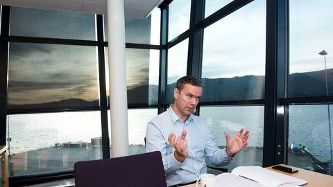 Administrerende direktør Njål Sævik i Havila Shipping.