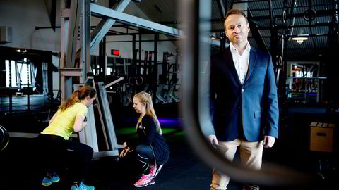 Fredrik Solstad, nordisk salgsdirektør i treningskjeden Sats Elixia.