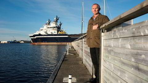 Administrerende direktør Håvard Ulstein i Island Offshore i Ulsteinvik ber resten av bransjen om å ikke inngå kontrakter på dagens nivå. – Det som foregår nå er fullstendig uholdbart. Det tror jeg alle ser, sier han.