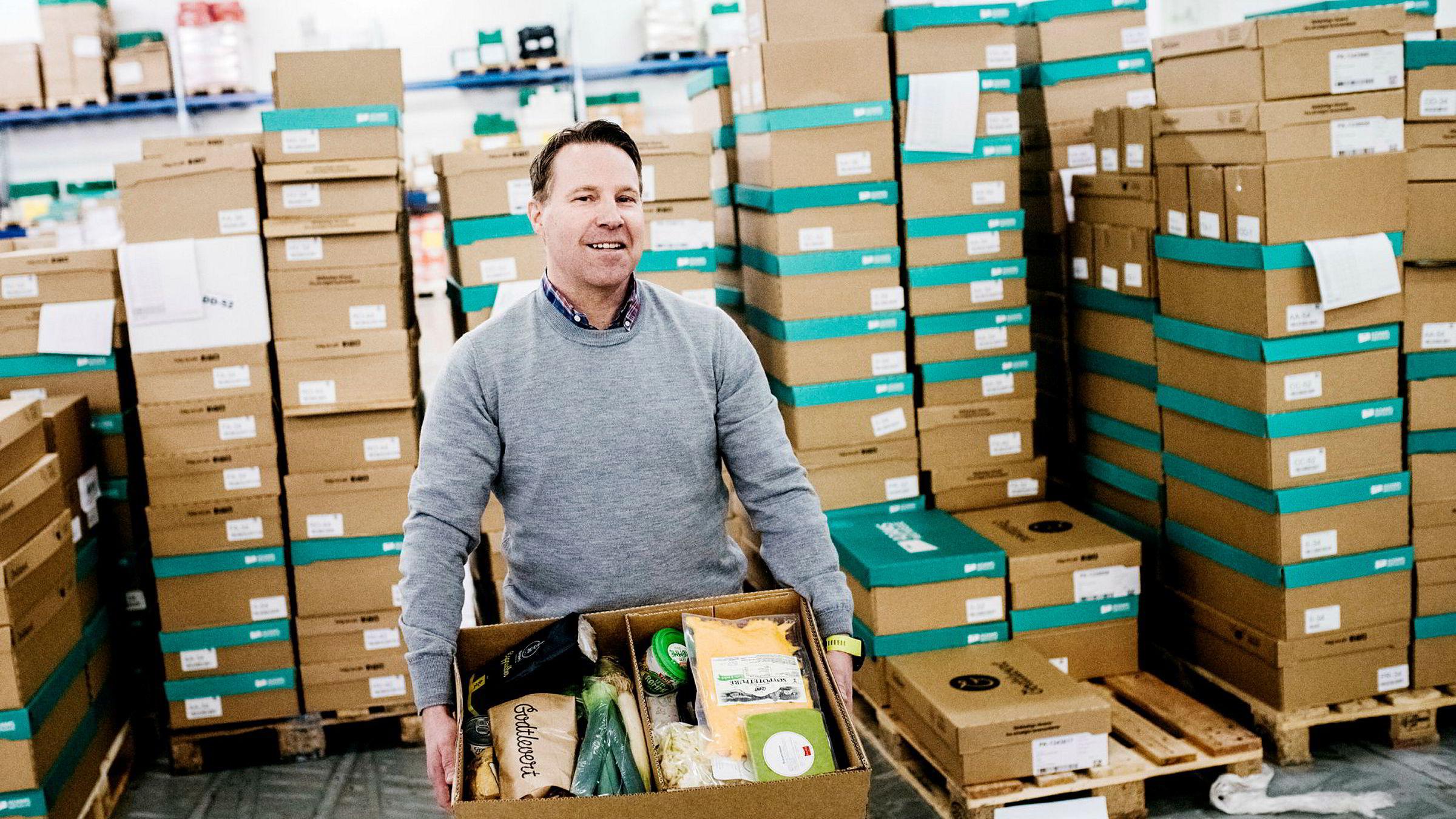 Et tidligere papirlager på Furuset er blitt til en ny matkassefabrikk for Godtlevert og Adams matkasse. Investeringsselskapet til Kjetil Graver, som er en av gründerne bak Godtlevert, innkasserte i fjor 27 millioner kroner i etterkant av fusjonen.