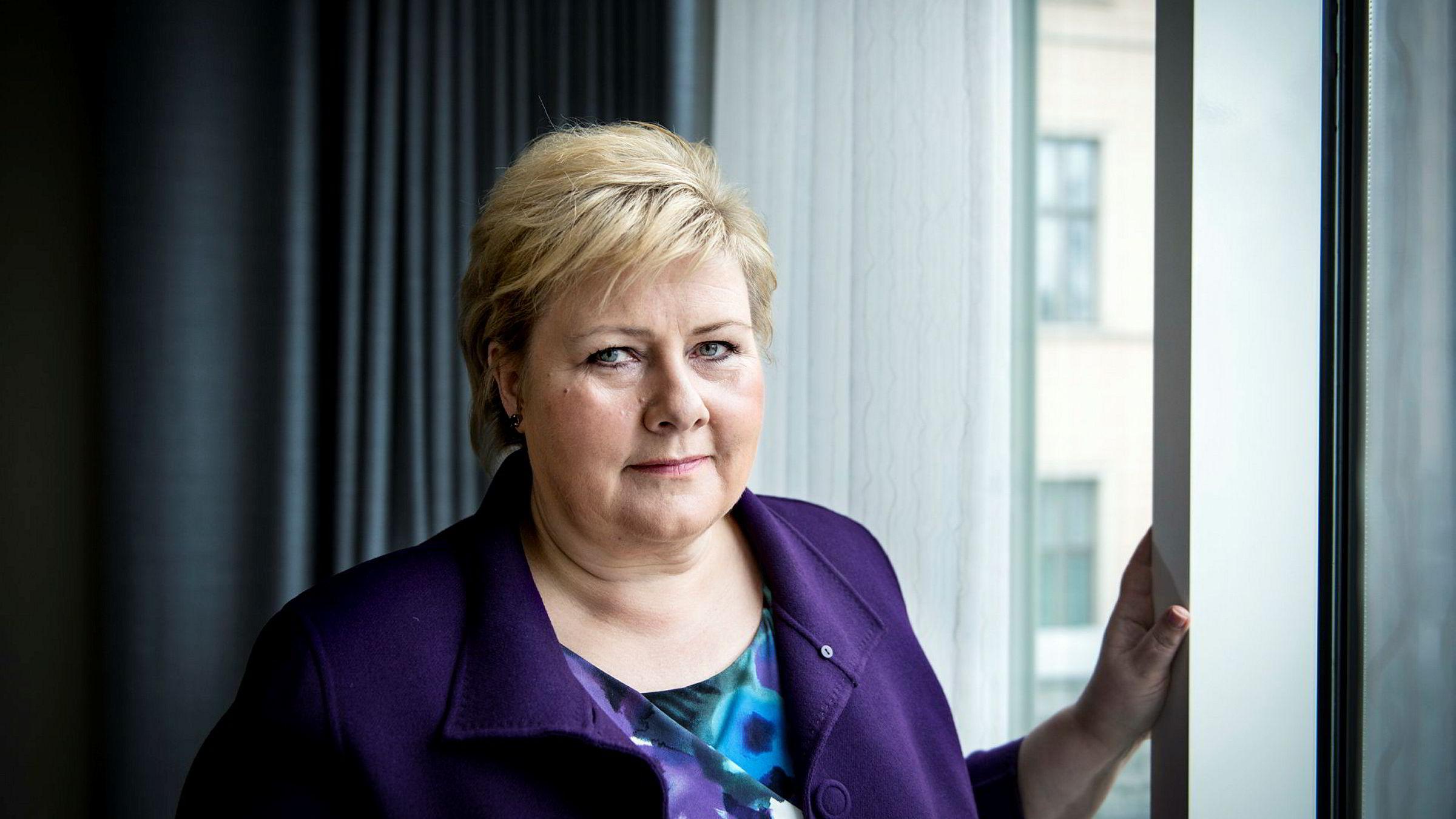 Erna Solberg tror det er best for Europa hvis toryene vinner dagens valg i Storbritannia.