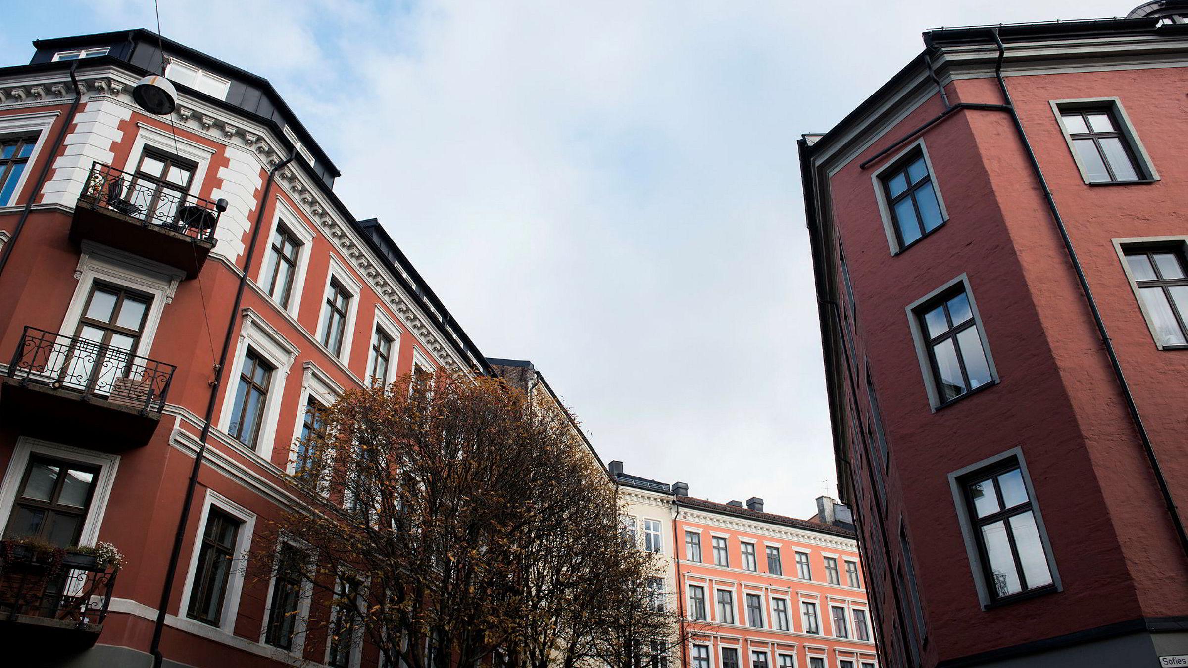 Leiligheter på Bislett i Oslo.