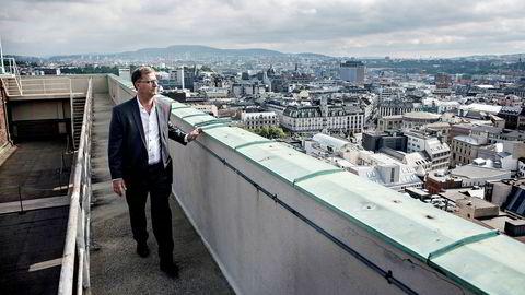 Finansbyråd i Oslo, Robert Steen, kan glede seg over 1,4 milliarder mer i frie inntekter på grunn av at så mange aksjeeiere bor i Oslo.